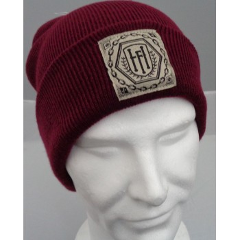 Label Burgundy - Beanie