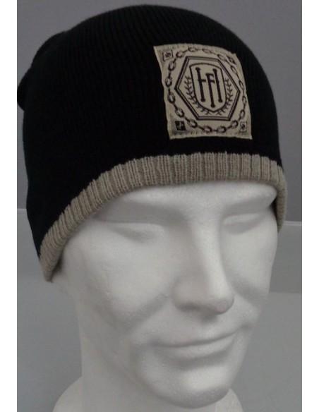 Hexa logo - Bonnet noir ecru