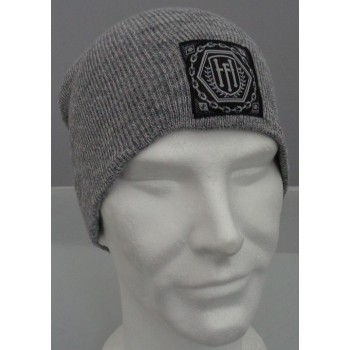 Heather grey - beanie pull on