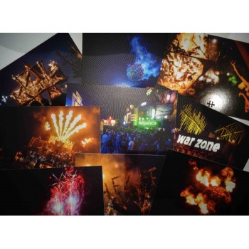9 postcards - set