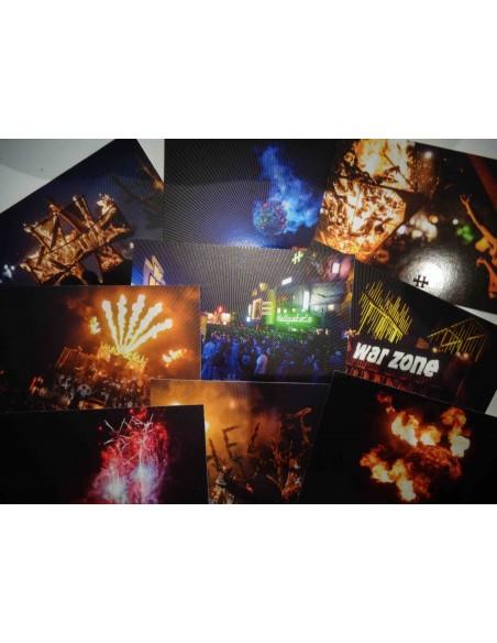 9 cartes postales - set