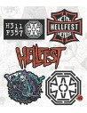 5 stickers set - 2019