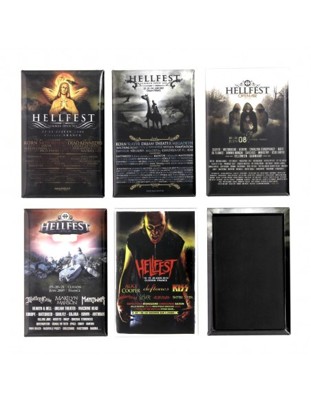 Hellstory - 5 Magnets pack