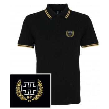 H crest jaune - Polo