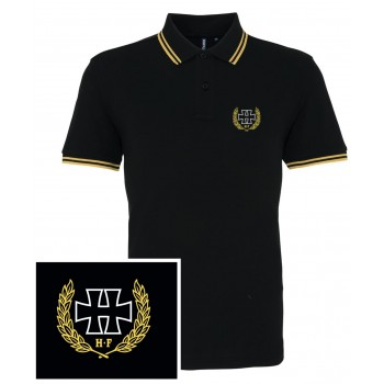 H crest Yellow - Polo