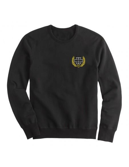 H crest white - crewneck sweater