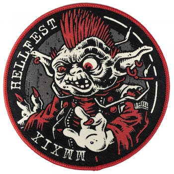 Yoda punk - patch