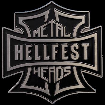 "Belt Buckle ""Metalheads"""