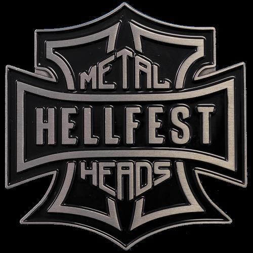 """Boucle de ceinture """"Metalheads"""""""