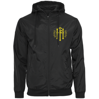 "Coupe vent "" HF logo "" jaune"