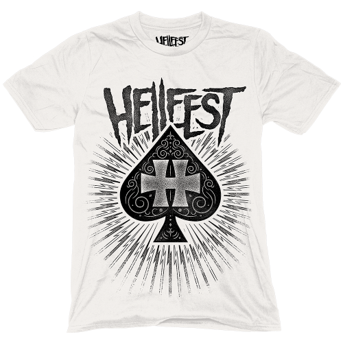 "T-Shirt ""H of Spades"" Blanc"