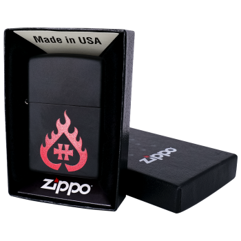 """Zippo """"Hellfire"""""""