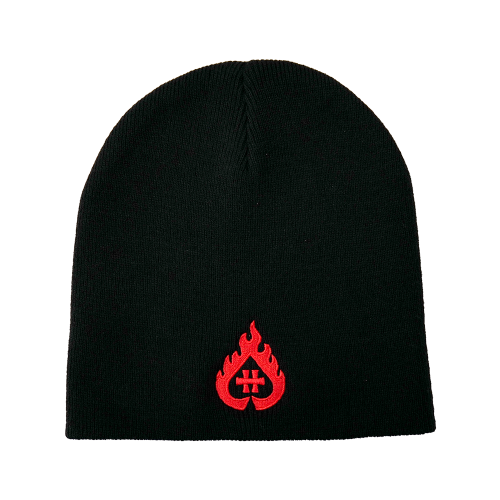 "Bonnet ""Hellfire"" pull on"