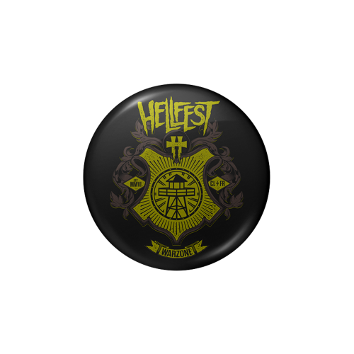 """Badge & Sticker  """"Warzone"""""""