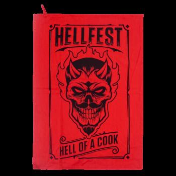 "Kitchen towel "" Devil cook"""