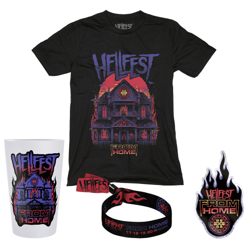 """Pack TS Homme """" Hellfest from Home"""""""